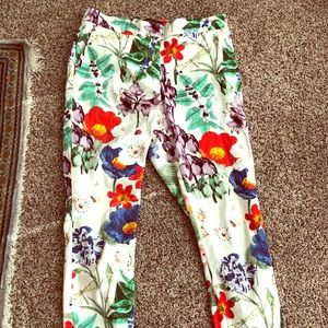 Fun summer floral pants